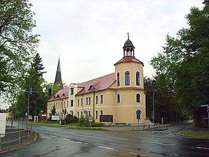 Bernsdorf, Upper Lusatia - Image: Dresdener Straße 2 Bernsdorf