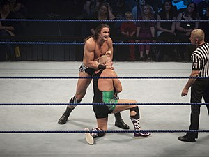 Drew McIntyre - McIntyre in a match against Finlay
