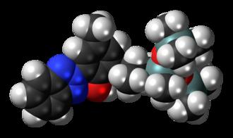 Drometrizole trisiloxane - Image: Drometrizole trisiloxane 3D spacefill