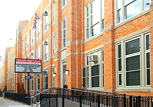 DuSable High School - Image: Du Sable HS Campus