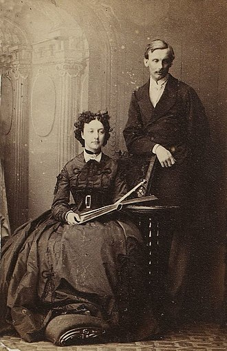 Princess Françoise of Orléans (1844–1925) - The Duchess of Chartres and her husband
