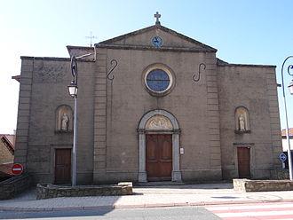 Duerne - The church of Saint-Jean-Apôtre, in Duerne