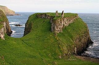 Dunseverick Castle castle near Dunseverick, Northern Ireland