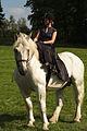 Duo de cavalières mondial du cheval percheron 2011Cl J Weber02 (24083477445).jpg