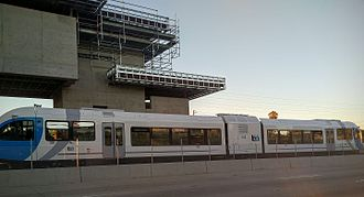 Bay Area Rapid Transit rolling stock - Test train idling at Pittsburg Center