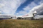 EGLF - Boeing 747-8F - Qatar Airways - G-CLAB (43475310891).jpg
