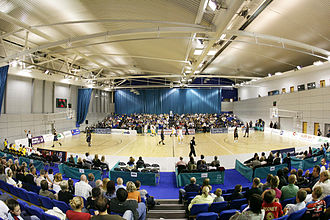 English Institute of Sport, Sheffield - Main sports hall, home to Sheffield Sharks