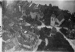 ETH-BIB-Arbon, Schloss Arbon mit Kirche, Bodensee aus 30 m-Inlandflüge-LBS MH01-002320.tif