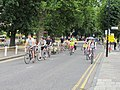 Ealing Skyride - cyclists on traffic-free streets - geograph.org.uk - 1971739.jpg