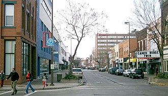 Eau Claire, Wisconsin - Barstow Street