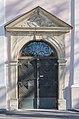 Ebenthal Pfarrkirche Maria Hilf W-Portal 30122016 5945.jpg