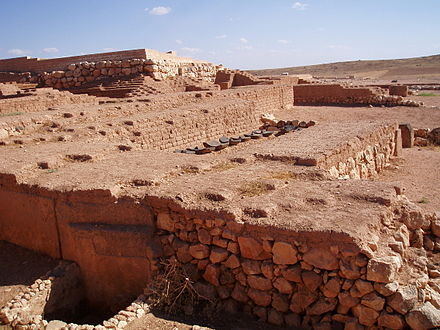 "The western palace ""Q"" situated above the royal necropolis Ebla.jpg"