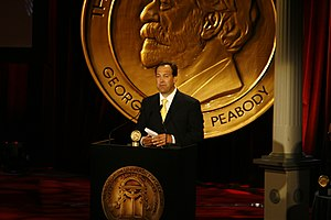 KTVU - Former KTVU news director Ed Chapuis at the 69th Annual Peabody Awards in 2010.