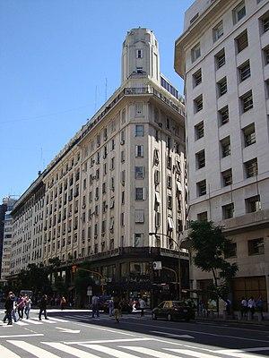Avenida Roque Sáenz Peña - Image: Edificio La Unión