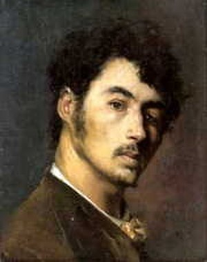 Edmond Aman-Jean - Self-portrait  (date unknown)