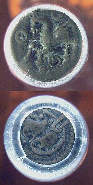 Aedui - Denarius of the Aedui, 1st century BCE, 1940mg. Hotel de la Monnaie.