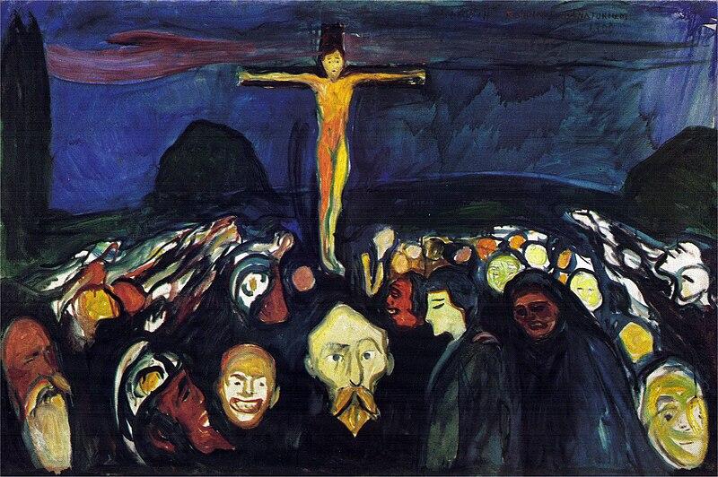 File:Edvard Munch - Golgotha (1900).jpg