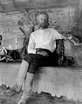 Edward William Nelson - Nelson in Mexico in 1895