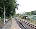 Eggesford railway station up platform, Tarka Line, South Devon - view towards Barnstaple.jpg