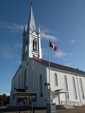 L'église de Grande-Digue.