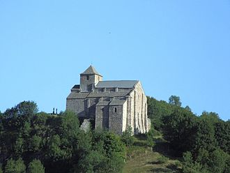 Albepierre-Bredons - Church of Saint-Pierre of Bredons
