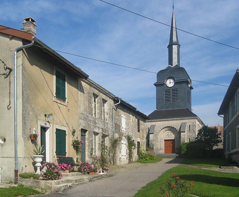 The church in Aincreville