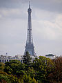 Eiffel Tower from Fondation Louis Vuitton, 26 October 2014.jpg