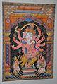 Eight-armed Ganesha - Patachitra - Tussore - Odisha - ACCN 2007-67 - Indian Museum - Kolkata 2015-09-26 3892.JPG