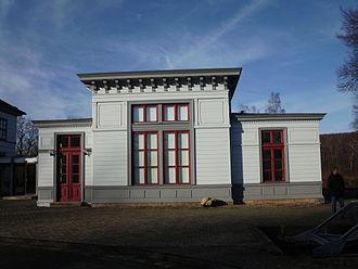 Vienenburg station - Kaisersaal (Imperial hall)