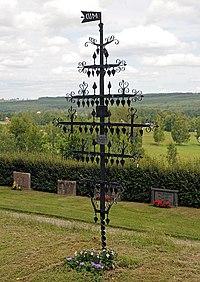 Järnkors på Ekshärads kyrkogård