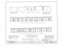 El Palacio Real de Santa Fe, Palace Avenue, Santa Fe, Santa Fe County, NM HABS NM,25-SANFE,2- (sheet 26 of 26).png