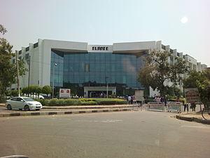Elante Mall - Main entrance of the Mall