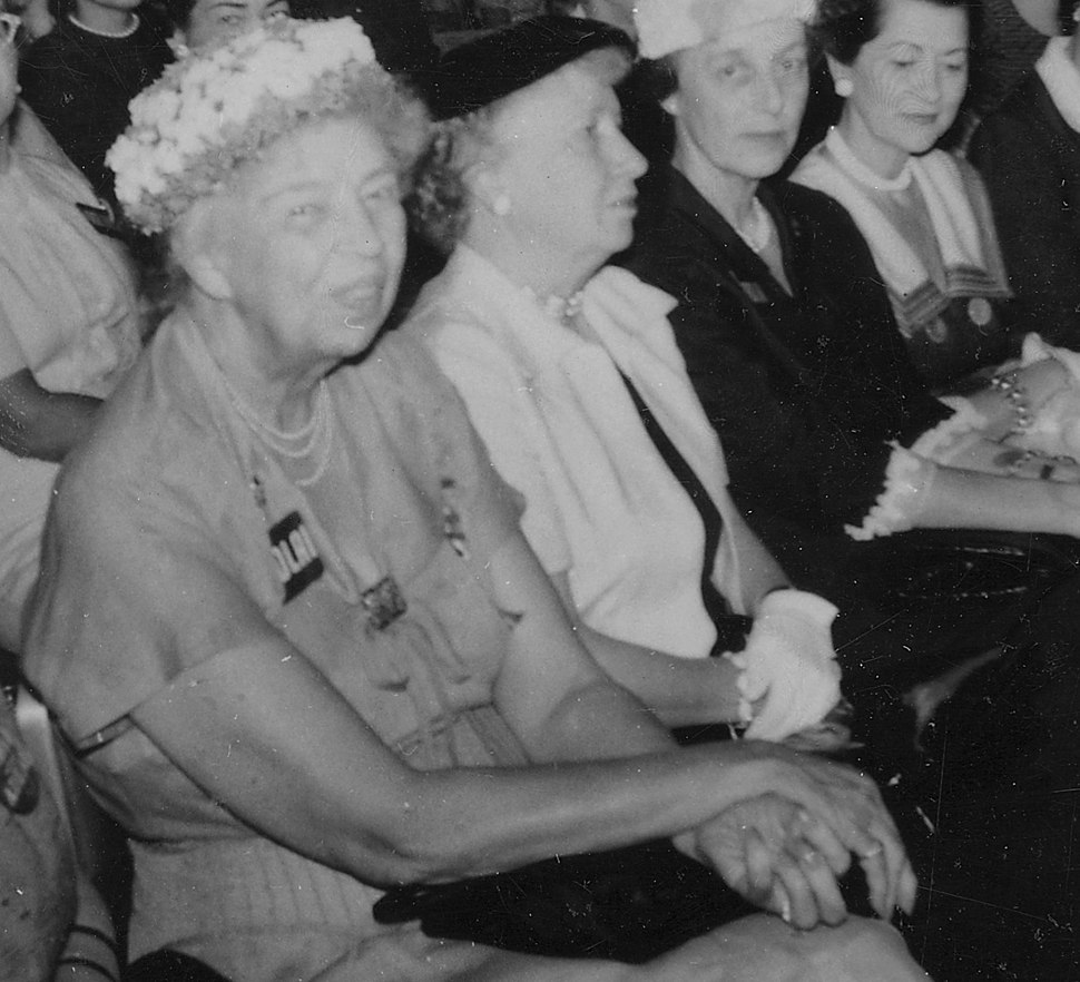 Eleanor Roosevelt at the Democratic Nationall Convention in Chicago, Illinois - NARA - 195997 (cropped2)