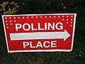 Election - November 2, 2010 - Polling Place Sign (5141729818).jpg
