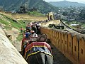 Elephant riding at Amber fort - panoramio (1).jpg