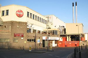 Eley Industrial Estate -  The Coca-Cola factory