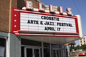 Cleveland, Mississippi - Ellis Theater in Cleveland
