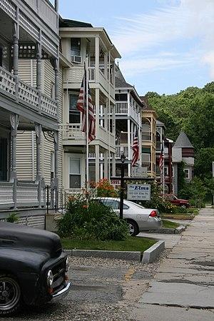 Elm Street Historic District (Worcester, Massachusetts) - Image: Elm St Historic District Worcester MA