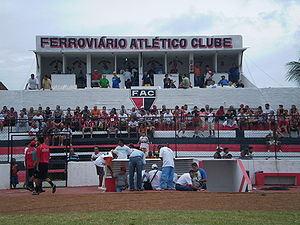 Ferroviário Atlético Clube (CE) - Radio and TV block at Vila Olímpica Elzir Cabral
