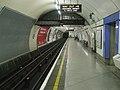 Embankment station Bakerloo southbound look north.JPG