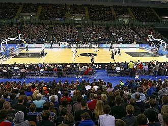 British Basketball League - Image: Emirates Arena BBL Trophy Final