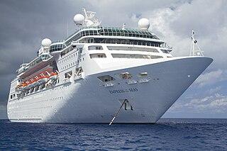 <i>Empress of the Seas</i> Cruise ship operated by Royal Caribbean International