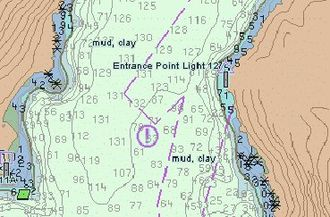 United Kingdom Hydrographic Office - An example of an Electronic Navigational Chart (NOAA)