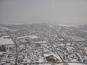 Eniwa, Hokkaido - Eniwa receives an average of 576 cm of snow per year.