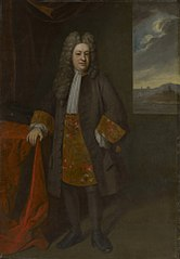 Portrait of Gov. Elihu Yale(1648/9–1721)