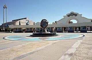 Warner Bros. theme park in Madrid, Spain
