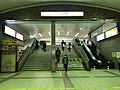 Entrance of Tengachaya Station (Nankai).jpg