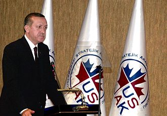 International Strategic Research Organization - Turkish Prime Minister Recep Tayyip Erdoğan gives lecture at the USAK House on Turkish Foreign and Defence Policy, 3 February 2010