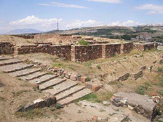 Erebuni Fortress - Image: Erebuni SE Entrance
