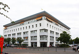 Erftstadt, Rathaus in Liblar erbaut 1988